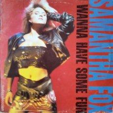 Disques de vinyle: SAMANTHA FOX- I WANNA HAVE SOME FUN - LP 1988. Lote 193175791