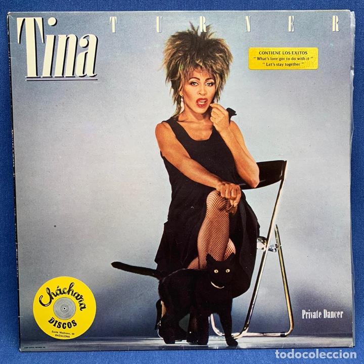 TINA TURNER PRIVATE DANCER LP. ESTUCHE VG+ VINILO VG+ (Música - Discos de Vinilo - EPs - Pop - Rock - New Wave Extranjero de los 80)