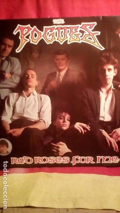 THE POGUES - RED ROSES FOR ME . (Música - Discos - LP Vinilo - Punk - Hard Core)