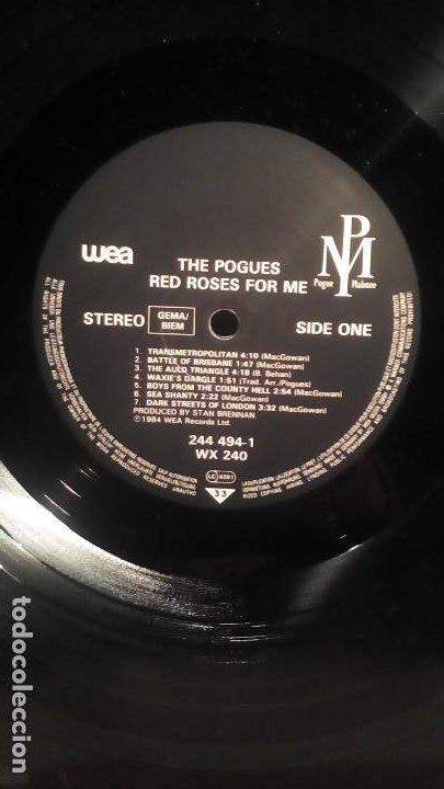 Discos de vinilo: THE POGUES - RED ROSES FOR ME . - Foto 3 - 193178583