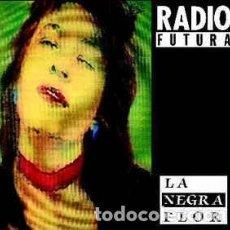 Discos de vinilo: RADIO FUTURA, LA NEGRA FLOR / PASEO CON LA NEGRA FLOR, MAXI-SINGLE SPAIN 1987. Lote 193183185