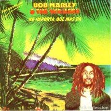 Disques de vinyle: BOB MARLEY & THE WAILERS– THREE LITTLE BIRDS - SINGLE SPAIN 1980. Lote 193187262