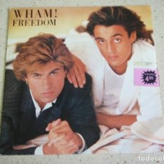 Discos de vinilo: WHAM! – FREEDOM - 2VERSIONES 1984-HOLANDA SINGLE EPIC. Lote 193195621