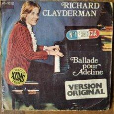 Discos de vinilo: RICHARD CLAYDERMAN - BALLADE POUR ADELINE. Lote 193203258