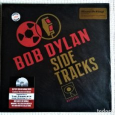 Discos de vinilo: BOB DYLAN - '' SIDE TRACKS '' 3 LP NUMBERED #6163 180GR 2013 EU SEALED. Lote 193207525