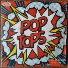 Discos de vinilo: POP TOPS - VIENTO DE OTOÑO/ CRY. Lote 193207627