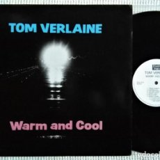 Discos de vinilo: TOM VERLAINE - '' WARM AND COOL '' LP ORIGINAL UK 1992. Lote 193208750