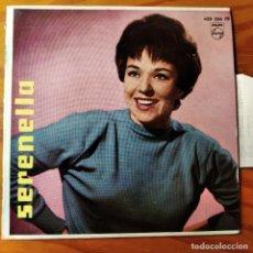 Discos de vinilo: SERENELLA CON JOSE LUIS SANESTEBAN EP 1959- OH JOSEFINA/ LO QUE TE QUIERO/ CARINA AMOR Y CASTAÑUELAS. Lote 193210910