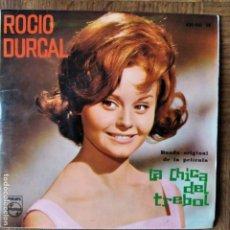 Discos de vinilo: ROCIO DURCAL EP 1963- LA CHICA DEL TREBOL/ TREBOLE +2. Lote 193211371