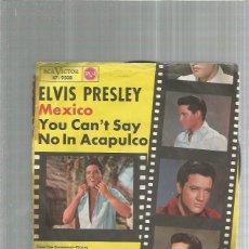 Discos de vinilo: ELVIS PRESLEY MEXICO. Lote 193211510