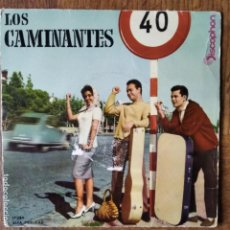 Discos de vinilo: LOS CAMINATES EP 1960- ABANIQUEME USTED/ VAGABUNDO/ MAR BLANCA +1. Lote 193213007
