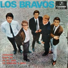 Discos de vinilo: LOS BRAVOS EP 1967- SYMPATHY/ SHOW ME/ I'M ALL EARS/ I'M WEARING A SMILE. Lote 193214573