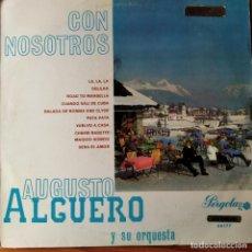 Discos de vinilo: AUGUSTO ALGUERO Y ORQUESTA, EXITOS MODERNOS - LP 1968 CIRCULO DE LECTORES.... Lote 193216441