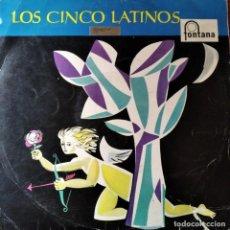 Discos de vinilo: LOS CINCO LATINOS - LP 1960 MARAVILLO MARAVILLOSO. Lote 193217727
