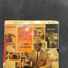Discos de vinilo: NAT KING COLE SINGLE EP DE 1959. Lote 193227485