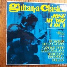 Discos de vinilo: JOSÉ MUÑOZ COCA - GUITARRA CLÁSICA. Lote 193246928