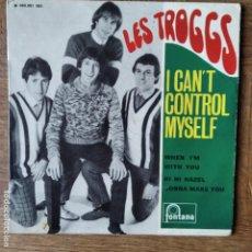 Discos de vinilo: LES THE TROGGS -EP 1966- I CAN'T CONTROL MYSEL +3. Lote 193248163