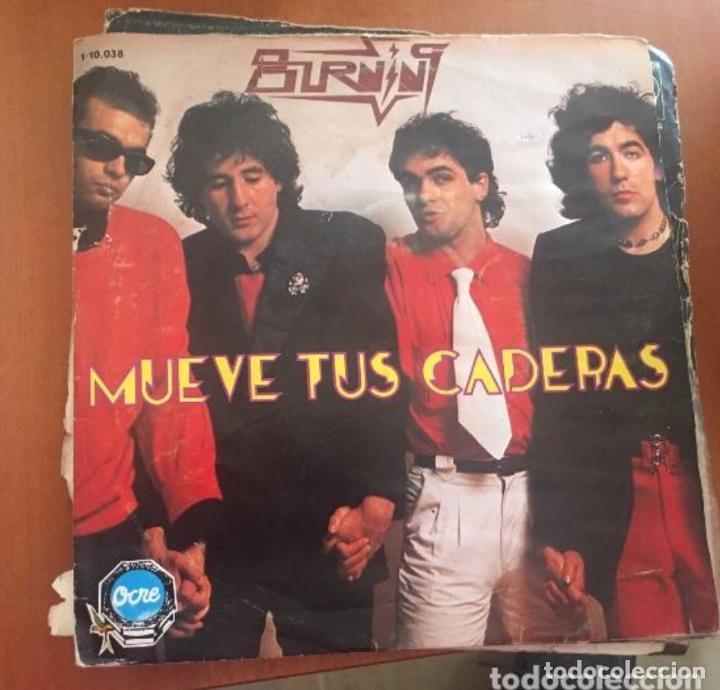 """BURNING: MUEVE TUS CADERAS 7"""" (Música - Discos - Singles Vinilo - Otros estilos)"""