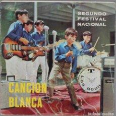 Discos de vinilo: CANCION BLANCA//SEGUNDO FESTIVAL NACIONAL//SEVILLA 1968//PLEGARIA DEL CAMPANILLERO+3//EP. Lote 193260257