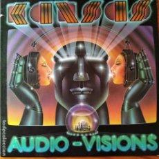 Discos de vinilo: KANSAS - AUDIO VISIONS - LP 1980 -. Lote 193260907