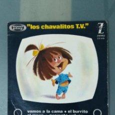 Discos de vinilo: LOS CHAVITOS TV - VAMOS A LA CAMA. Lote 193275951