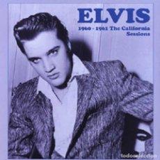 Discos de vinilo: ELVIS PRESLEY * LP VINILO LTD 500 COPIAS!!!! * CALIFORNIA SESSIONS 1960-1961 * PRECINTADO!!. Lote 234871110