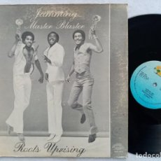 Discos de vinilo: ROOTS UPRISING & RINGO - JAMMIN (MASTER BLASTER) // RANKING JAM - US MAXI - TOP RANKING INTERNATIONA. Lote 193295526