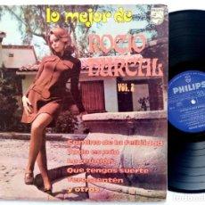 Discos de vinilo: ROCIO DURCAL - LO MEJOS DE ROCIO DURCAL VOL 2 - RARO LP MEXICANO 1974 - PHILIPS. Lote 193296281