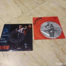 Discos de vinilo: ALFREDO- LOTE DE DOS DISCOS 45 RPM- 1 EP Y 1 SINGLE. Lote 193296545
