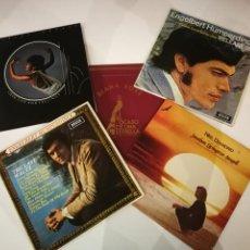 Discos de vinilo: LOTE 5 DISCOS DE VINILO. DIANA ROSS. ENGELBERT HUMPERDINCK. SHIRLEY BASSEY. NEIL DIAMOND.. Lote 193314566