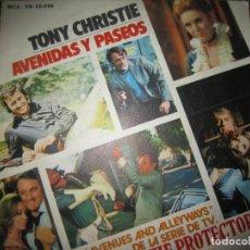 Discos de vinilo: TYONY CHRISTIE - AVENIDAS Y PASEOS SINGLE DORIGINAL ESPAÑOL - MCA RECORDS 1972 - - BUEN ESTADO. Lote 193322733