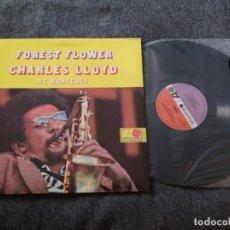 Discos de vinilo: CHARLES LLOYD – FOREST FLOWER LP VINILO JAZZ. Lote 193329470