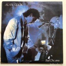 Discos de vinilo: MAXISINGLE VINILO 45 RPM, ALAN COOK, BAD DREAMS, MAX MUSIC 1986. Lote 193336436