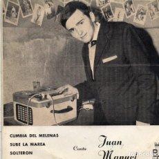 Discos de vinilo: JUAN MANUEL - SINGLE 1967 (ACTUÓ CON CONJUNTO DAKAR Y CONJUNTO GEMER´S). Lote 193343087