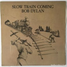 Discos de vinilo: BOB DYLAN. SLOW TRAIN COMING. CBS, 1979.. Lote 193346757