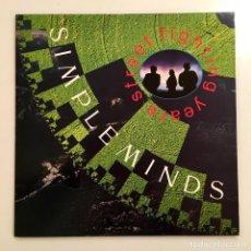 Discos de vinilo: LP VINILO 33 RPM, SIMPLE MINDS, STREET FIGHTING YEARS, VIRGIN RECORDS 1989. Lote 193347178