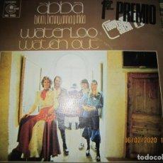 Discos de vinilo: ABBA - WATERLOO / WATCH OUT SINGLE ORIGINAL ESPAÑOL - CARNABY RECORDS 1974 -. Lote 193348345