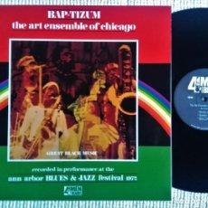 Discos de vinilo: THE ART ENSEMBLE OF CHICAGO - '' BAP-TIZUM '' LP REISSUE 2001 USA. Lote 193350101