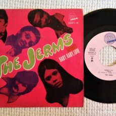 Discos de vinilo: THE JERMS - '' NOBODY / BABY, BABY, LOVE '' SINGLE 7'' SPAIN 1969. Lote 193351103