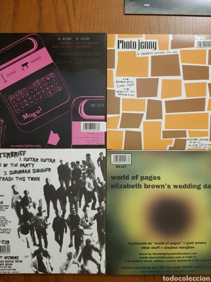 Discos de vinilo: Lote EPs vinilo Elefant Records. Helen Love, Denver, Mogul, Stereo Total. Indie. Vinilos de colores - Foto 3 - 224787131