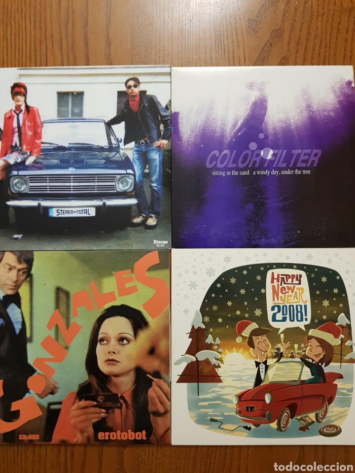 Discos de vinilo: Lote EPs vinilo Elefant Records. Helen Love, Denver, Mogul, Stereo Total. Indie. Vinilos de colores - Foto 4 - 224787131