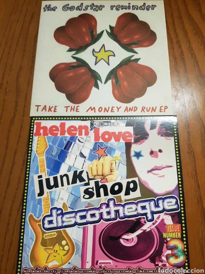 Discos de vinilo: Lote EPs vinilo Elefant Records. Helen Love, Denver, Mogul, Stereo Total. Indie. Vinilos de colores - Foto 6 - 224787131