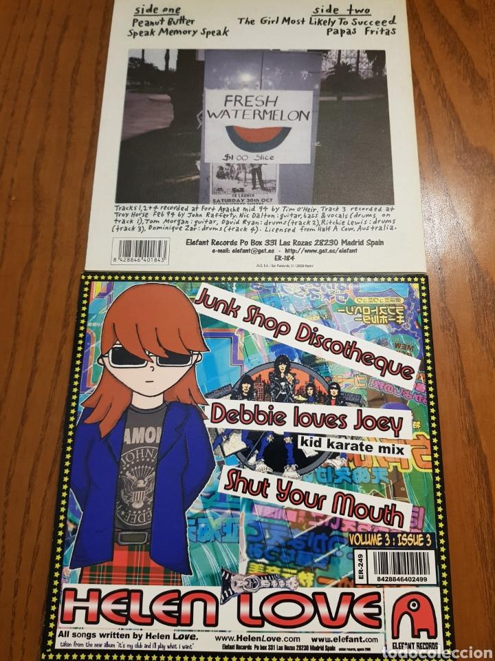 Discos de vinilo: Lote EPs vinilo Elefant Records. Helen Love, Denver, Mogul, Stereo Total. Indie. Vinilos de colores - Foto 7 - 224787131