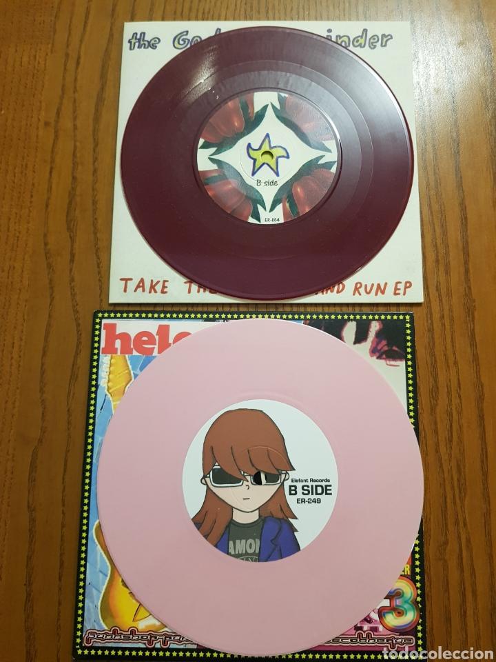 Discos de vinilo: Lote EPs vinilo Elefant Records. Helen Love, Denver, Mogul, Stereo Total. Indie. Vinilos de colores - Foto 10 - 224787131
