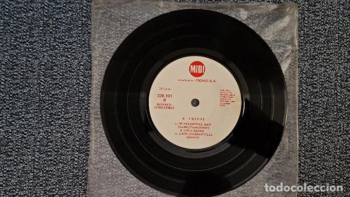 Discos de vinilo: 6 Exitos Midi. E.P. 33 r.p.m.(6 canciones) Distribución Fidias. año 1.970. No hay ninguna unidad - Foto 2 - 193361820