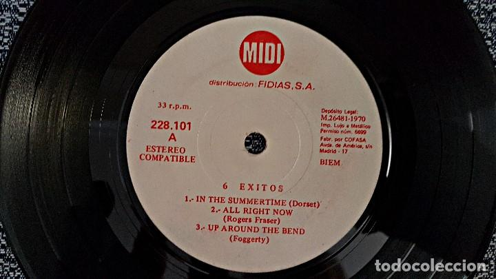 Discos de vinilo: 6 Exitos Midi. E.P. 33 r.p.m.(6 canciones) Distribución Fidias. año 1.970. No hay ninguna unidad - Foto 4 - 193361820