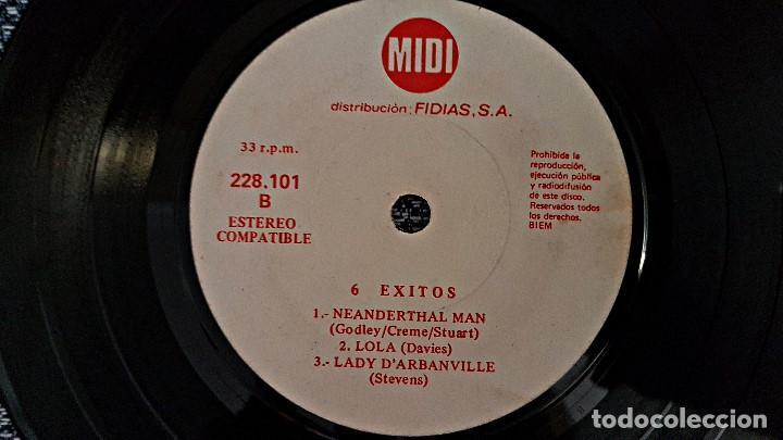 Discos de vinilo: 6 Exitos Midi. E.P. 33 r.p.m.(6 canciones) Distribución Fidias. año 1.970. No hay ninguna unidad - Foto 5 - 193361820