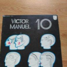Discos de vinilo: VÍCTOR MANUEL. Lote 193366285