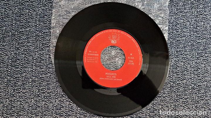 Discos de vinilo: Nucleos - Con esta canción / Calla, niña. editado por Pop. año 1.971. Single raro. no hay unidades. - Foto 2 - 193371110