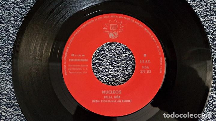 Discos de vinilo: Nucleos - Con esta canción / Calla, niña. editado por Pop. año 1.971. Single raro. no hay unidades. - Foto 4 - 193371110